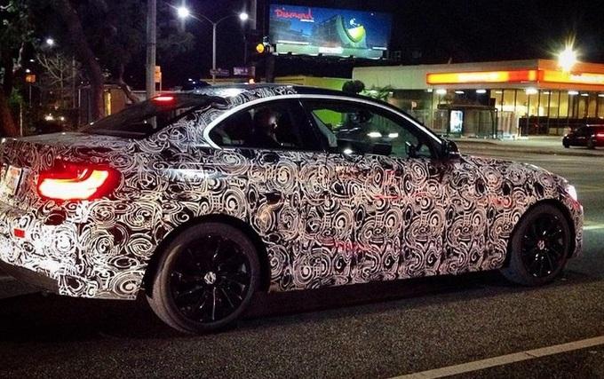 BMW M2 avvistata nelle strade della California