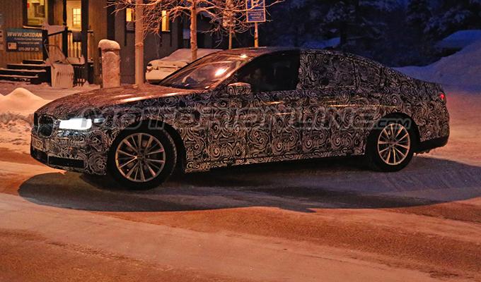 BMW Serie 7 MY 2016 - Foto spia 15-01-2015