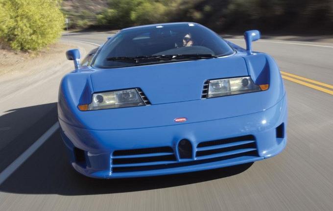 Bugatti EB110 GT, all'asta un esemplare molto particolare