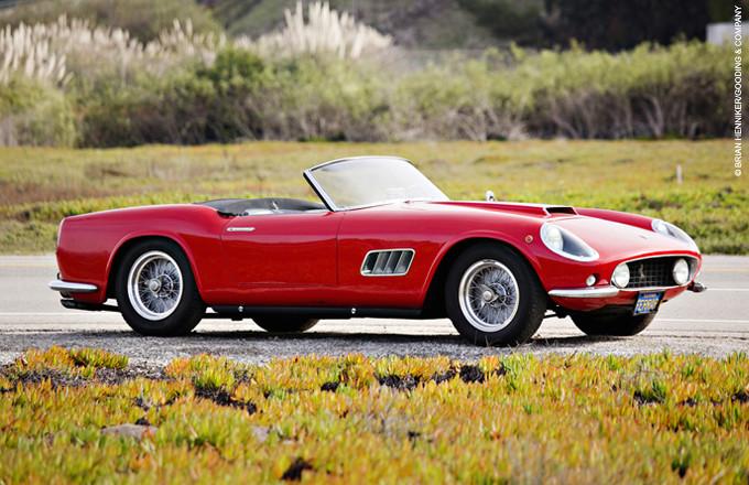 Asta Ferrari storiche