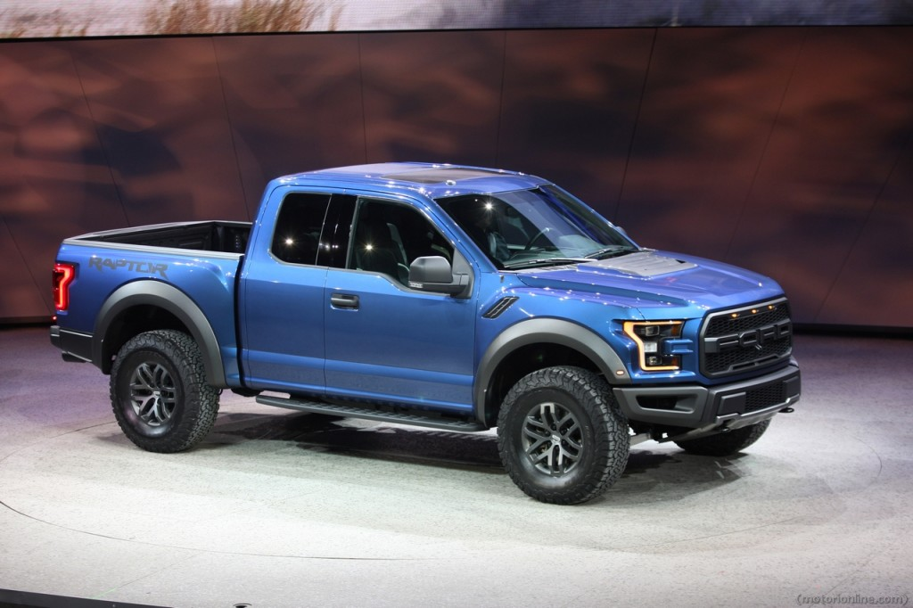 nuovo ford f 150 raptor l atteso pick up in anteprima al naias 2015 foto live. Black Bedroom Furniture Sets. Home Design Ideas