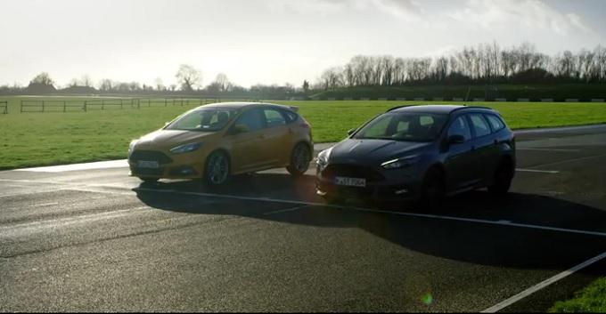 Ford Focus ST, i due motori si sfidano in una gara tutta in famiglia [VIDEO]