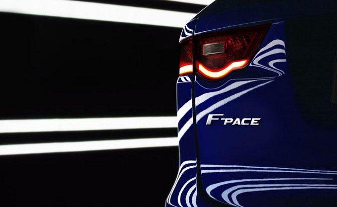 Jaguar F-Pace, teaser ufficiale del crossover