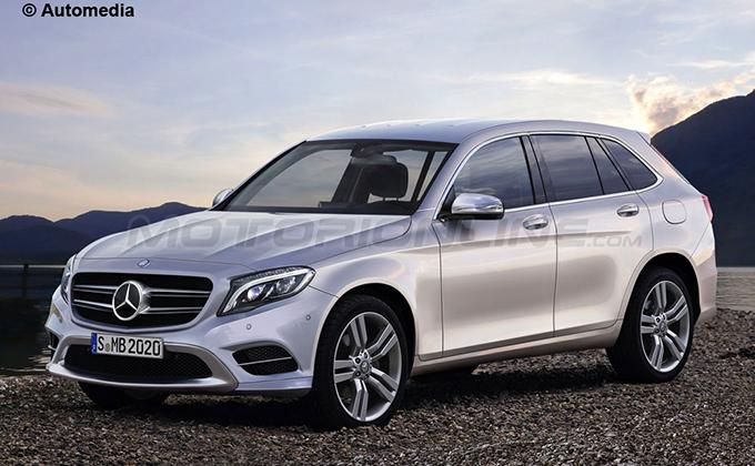 Mercedes GLC  e Mercedes GLC Coupe - rendering