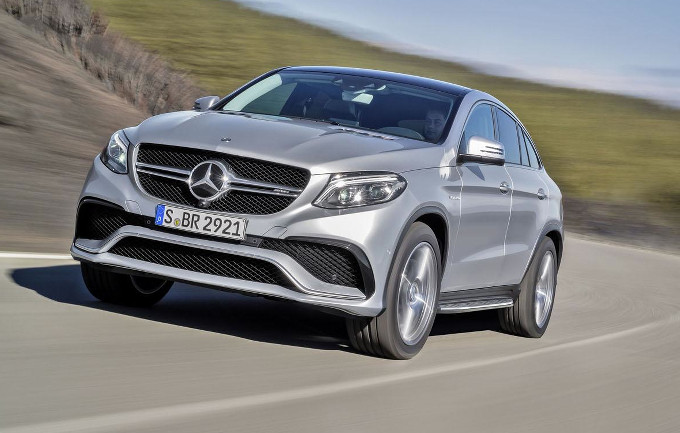 Mercedes GLE63 AMG S Coupe