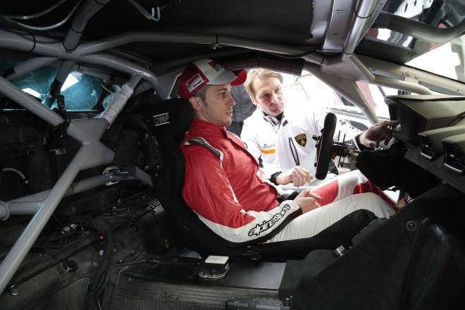 Andrea Dovizioso e Fabio Babini