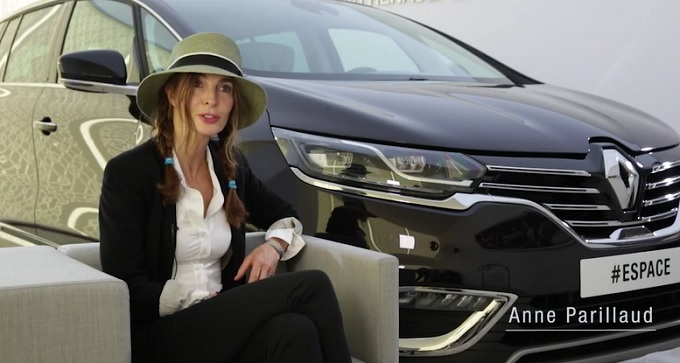 Nuova Renault Espace, in Vip Room con le star del cinema [VIDEO]