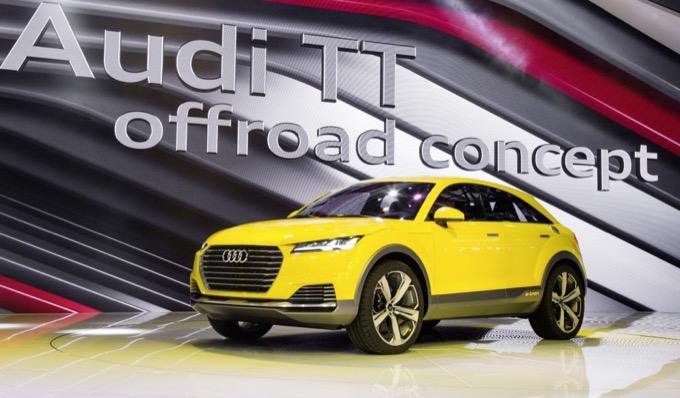 Audi TT Offroad Concept: rumor confermerebbero la produzione del crossover