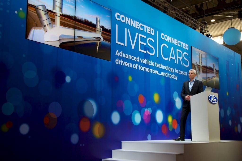 Ford porta il futuro della Smart Mobility al Mobile World Congress 2015 di Barcellona