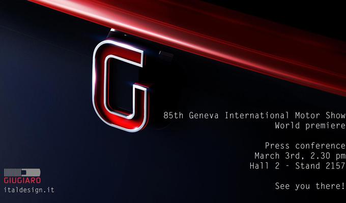Salone di Ginevra 2015: in arrivo un nuovo concept firmato Giugiaro