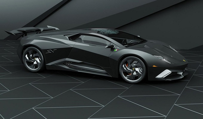 Lamborghini Phenomeno concept render by Grigory Gorin