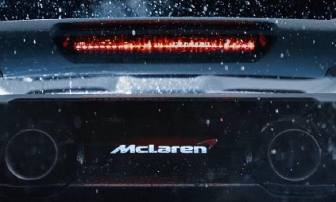 McLaren 675LT, anticipazione sul posteriore della nuova supercar [VIDEO TEASER]