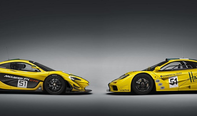 McLaren P1 GTR vs F1 GTR: duello per cuori temerari [VIDEO]