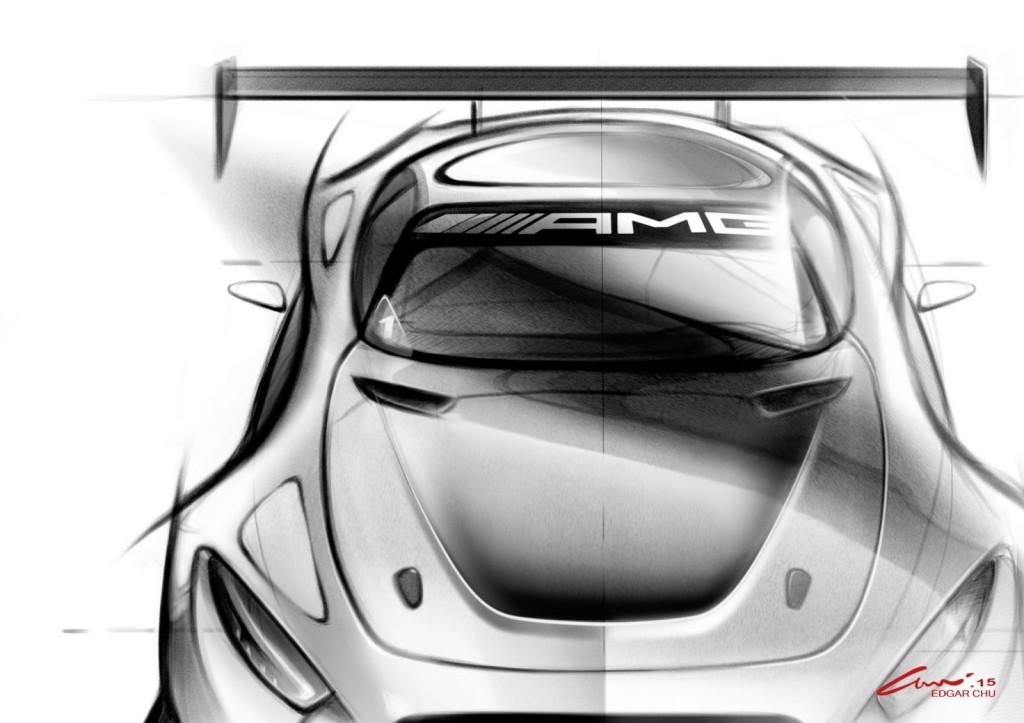 Mercedes-AMG GT3: i primi bozzetti della nuova estrema di Stoccarda