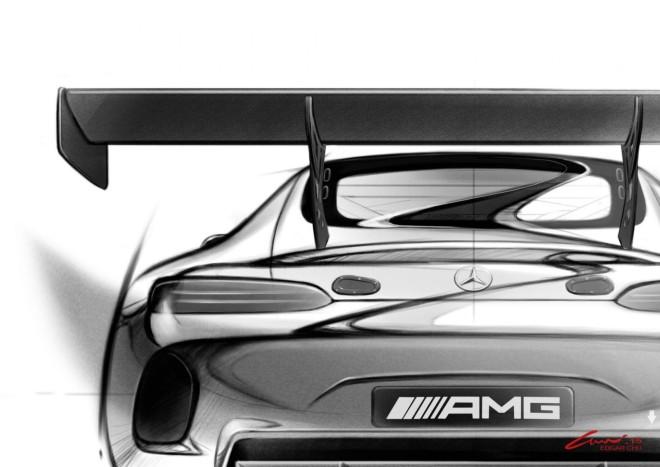Mercedes-AMG GT3 - sketch design (2)