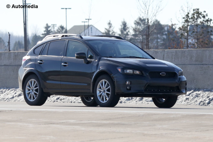 Nuova Subaru Impreza - Foto spia 09-02-2015