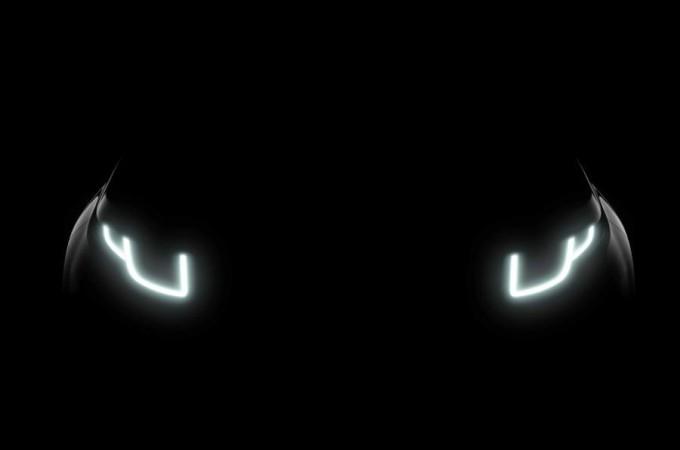 Range Rover Evoque MY 2016, primo teaser del restyling con fari adattivi a LED
