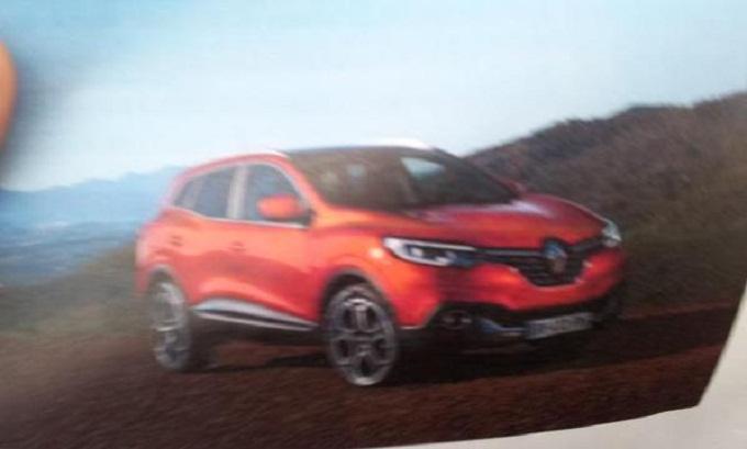 Renault Kadjar: è lei in questo screenshot?