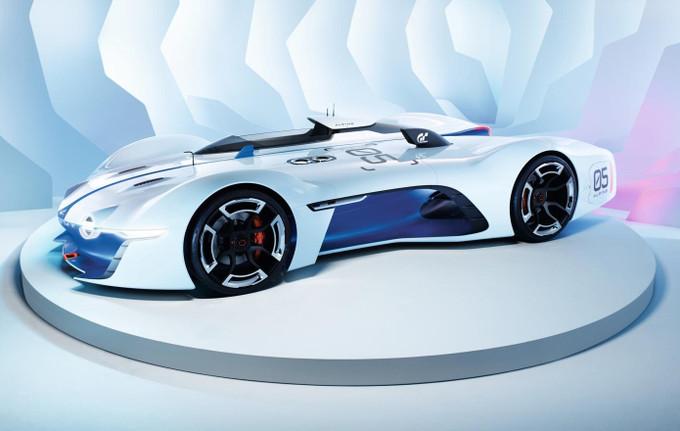 Alpine Vision Gran Turismo, la carrozzeria in dettaglio