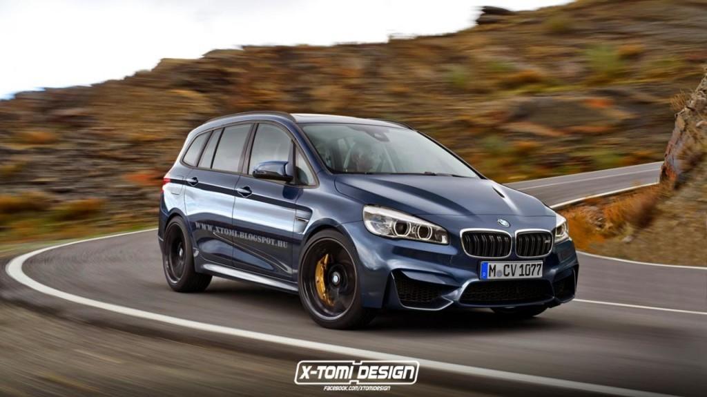 BMW M2 Gran Tourer, interpretazione dell'improbabile monovolume tutto pepe