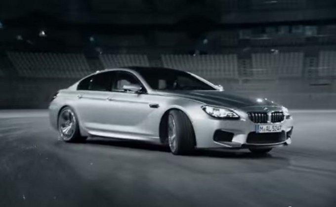 BMW M6 2015, spot promozionale a dir poco veloce