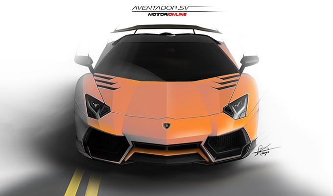 Lamborghini Aventador SV by Daniele Pelligra