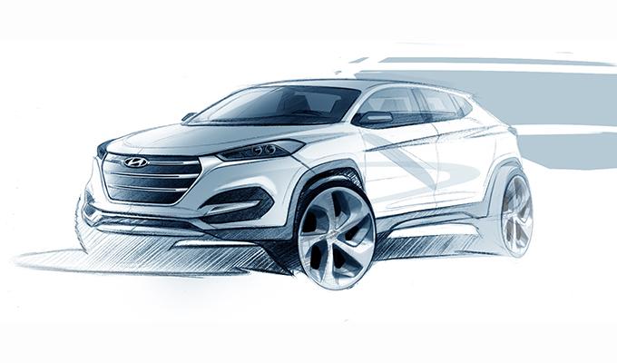 Hyundai Tucson, ritorno al futuro al Salone di Ginevra 2015 [FOTO e VIDEO TEASER]