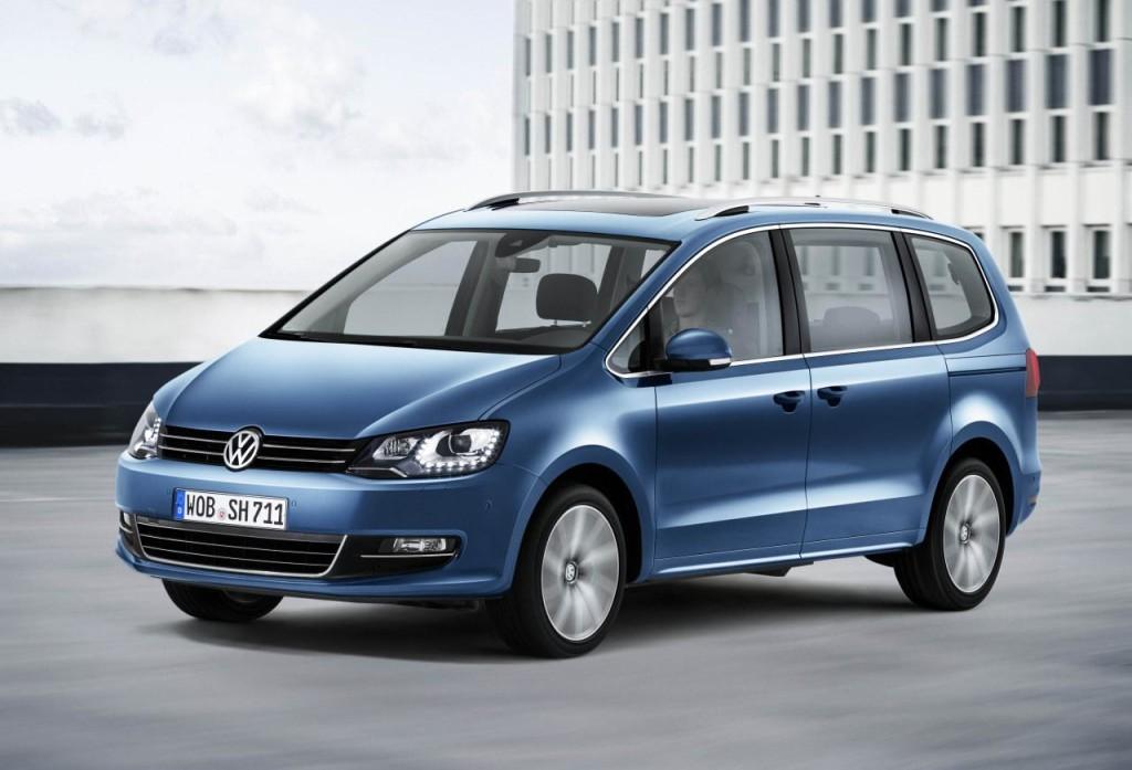 Volkswagen Sharan 2015
