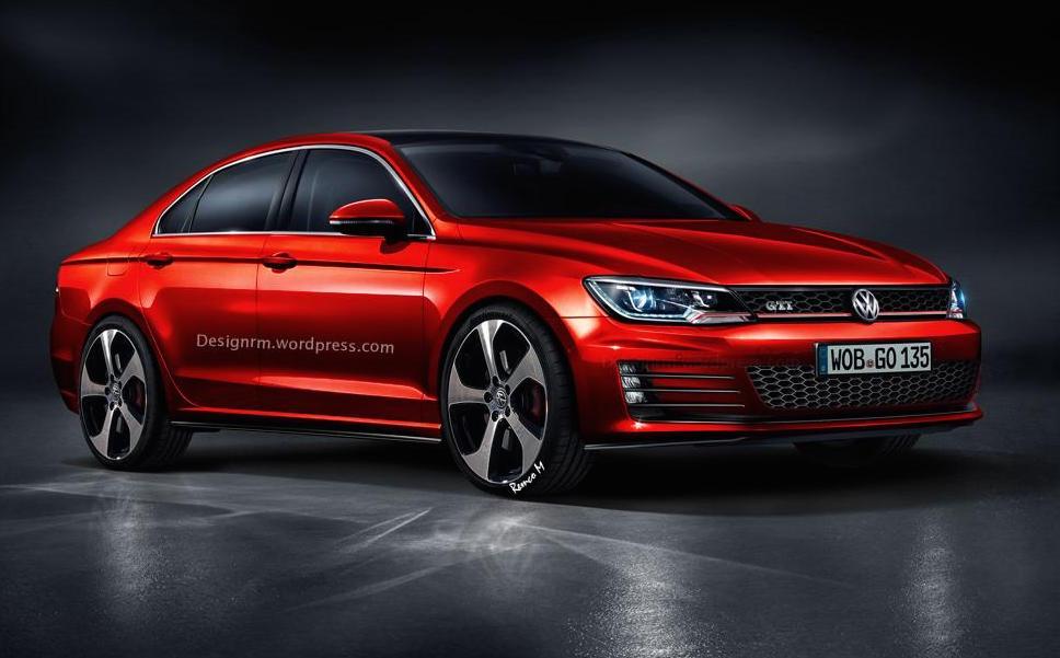 Volkswagen Golf CC GTI, rendering suggestivo e probabile realtà