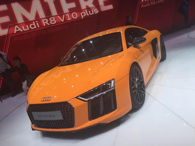 Audi R8 V10 Plus - Salone di Ginevra 2015