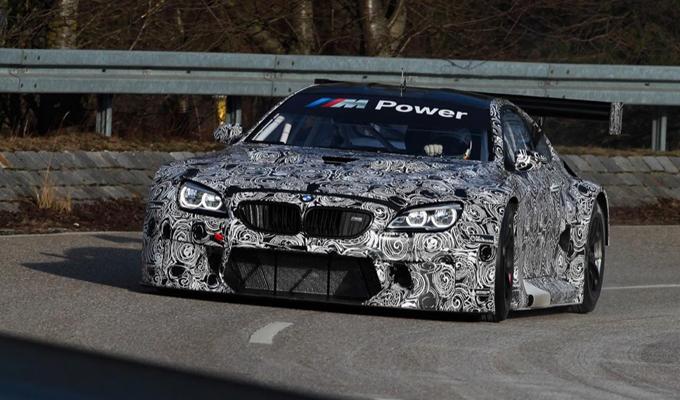 BMW M6 GT3 2016