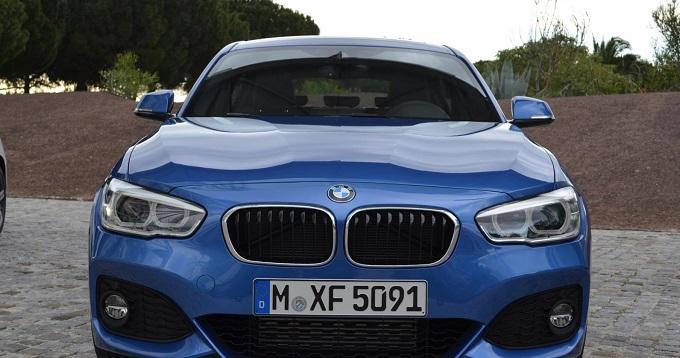 BMW Serie 1 restyling Lisbona