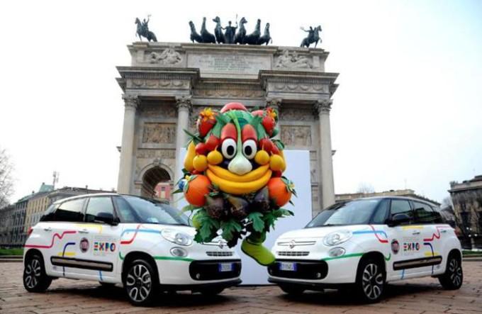 Gruppo FCA consegna la flotta auto all'organizzazione di Expo Milano 2015