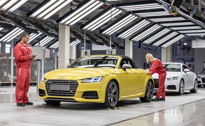 Auto in Germania a gonfie vele: bonus ai lavoratori Audi di 6.540 euro, in Volkswagen 5.900 euro
