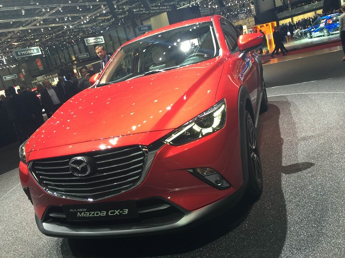 Mazda CX-3 - Salone di Ginevra 2015