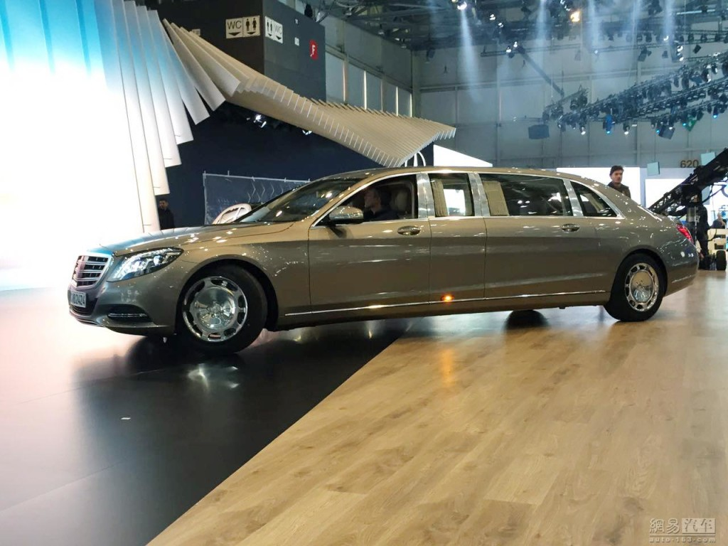 Mercedes Maybach S600 Pullman - Foto web