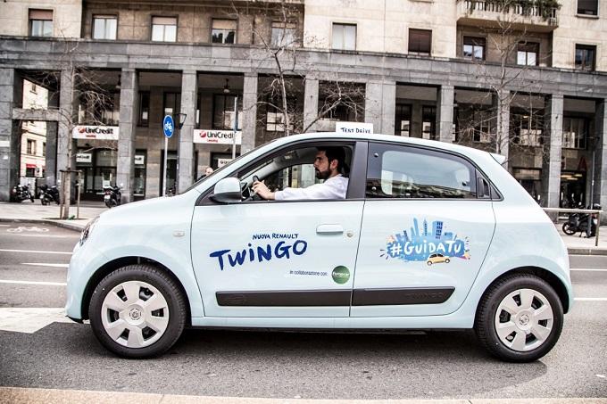 Nuova Renault Twingo, ti porta dove vuoi con #GuidaTu