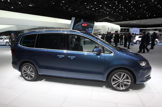 Nuovo Volkswagen Sharan - Salone di Ginevra 2015