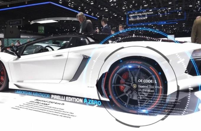 Pirelli, l'innovazione più calzante del Salone di Ginevra 2015 [VIDEO]
