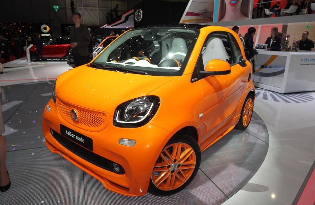 Smart ForTwo Brabus MY 2015 - Salone di Ginevra 2015