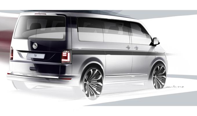 Volkswagen T6: arriva il primo teaser della nuova generazione