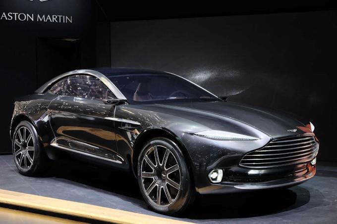 Aston Martin DBX - Salone di Ginevra 2015