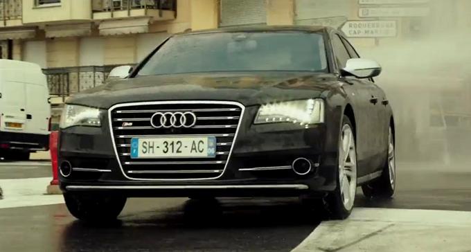 Nel prequel di Transporter Refueled appare l'ultima generazione di Audi S8 [VIDEO]