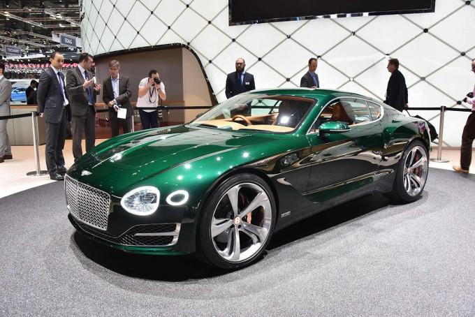 Bentley EXP 10 Speed 6 concept - Salone di Ginevra 2015