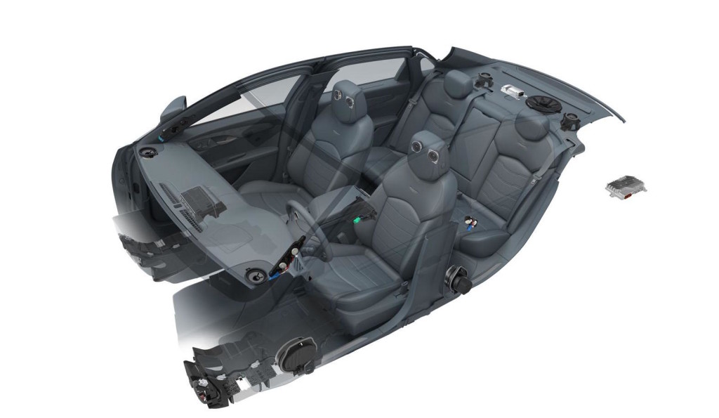 Cadillac CT6, sistema audio Bose per lei