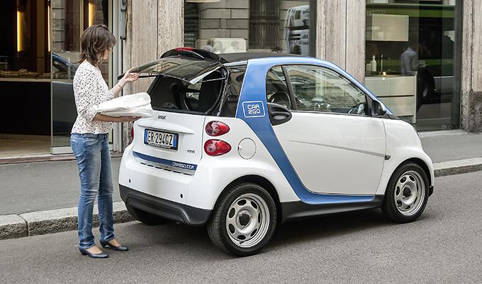 Car2Go a Torino: il car sharing Smart debutta sotto la Mole il 9 aprile