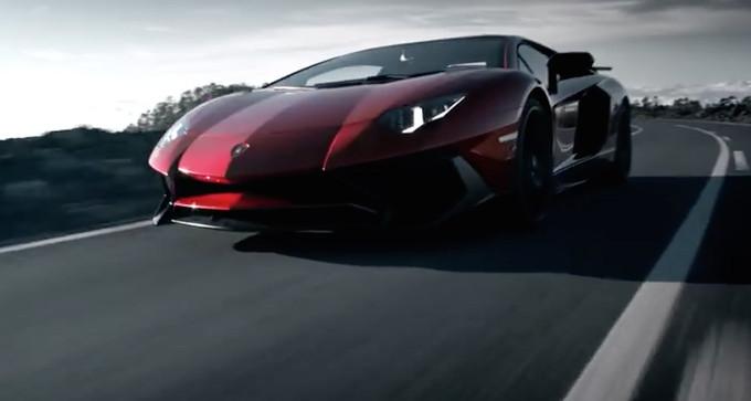 Lamborghini Aventador LP750-4 SV: il video promozionale e il backstage
