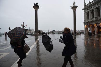 Maltempo: in arrivo 3 giorni di pioggia, neve e vento