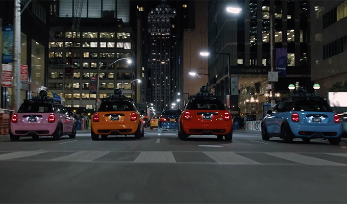 MINI: ecco i quattro fantasmini di Pac-Man nel trailer del nuovo film Pixels [VIDEO]
