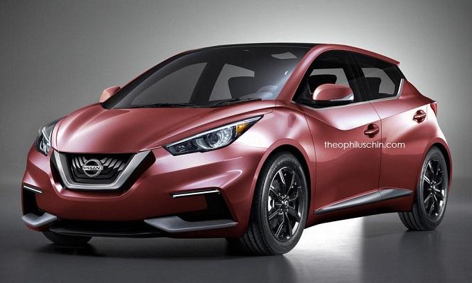 Nuova Nissan Micra, Theophilus Chin anticipa la futura generazione [RENDERING]